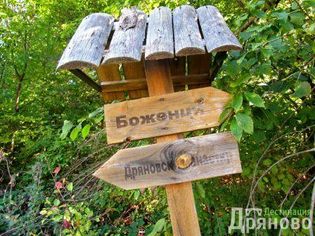 Екопътека Дряновски манастир - Боженци