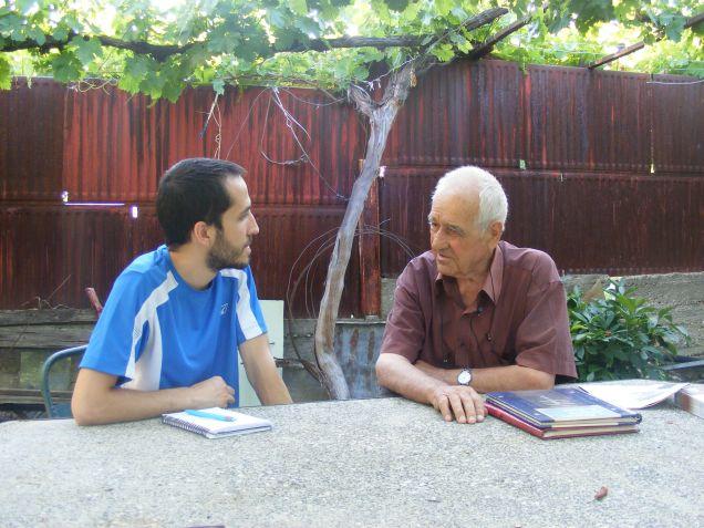 Срещнахме се с Никола Караколев от село Каломен. Скоро ще ви разкажем повече :)