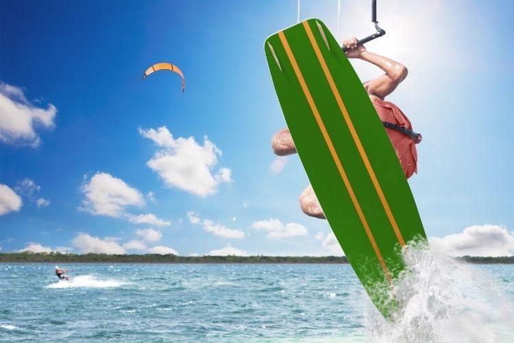 Défi jour 5 : Beauduc et le kite surf