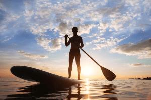 Défi jour 17 Tahiti et le stand up paddle