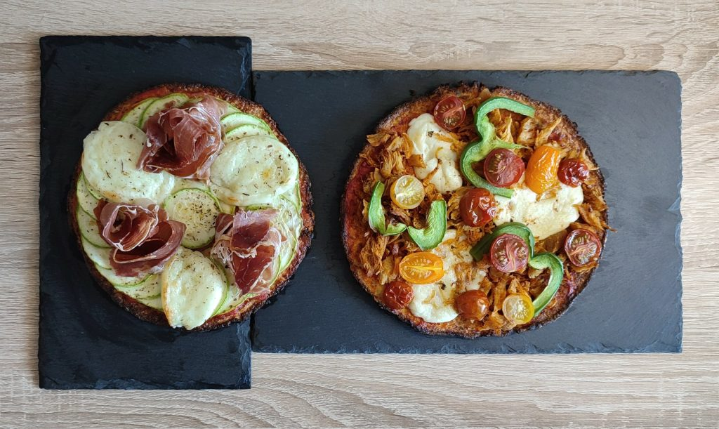 recette pizza fitness fit'za