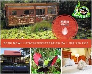 Destination Garden Route accommodation winter special