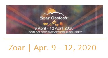 Destination Garden Route - Zoar Oesfees