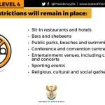 Destination Garden Route - Summary lockdown Level 4