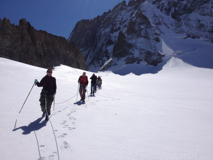 Balade glaciairen Glacier de la Girose