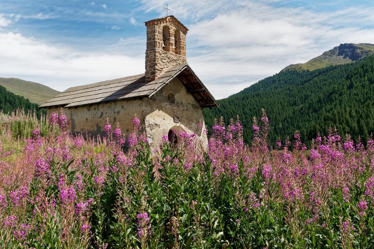 Chapelle de Bourget Vallée des Fonts de Cervières