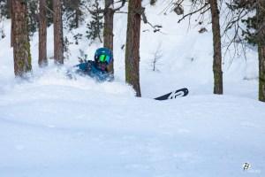 Ski de randonnée © T. Blais