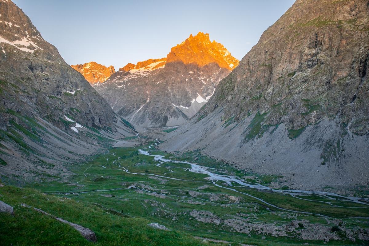 L'alpe de Villar les Ecrins