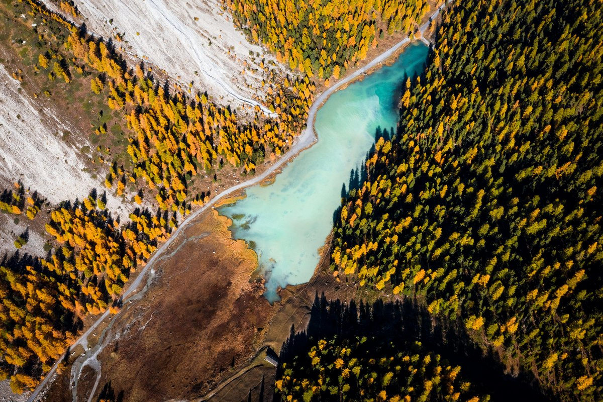 Lac d'Orceyrette