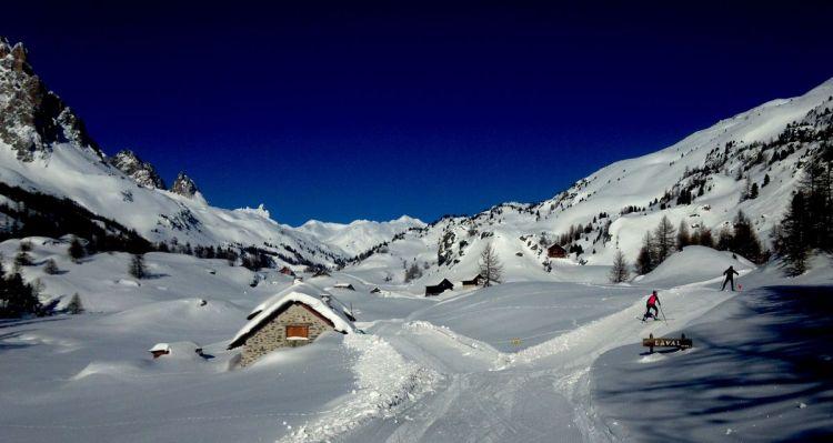 Ski de fond Haute Clarée