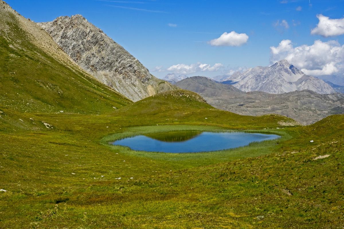 Lac de l'étoile Cervières