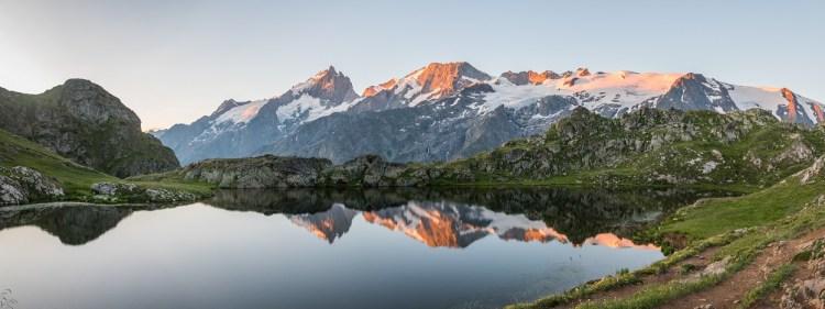 Lac Lérié plateau d'Emparis