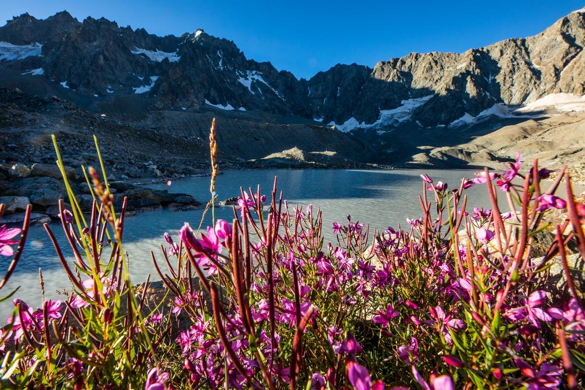 Lac d'Arsine Parc national des Ecrins