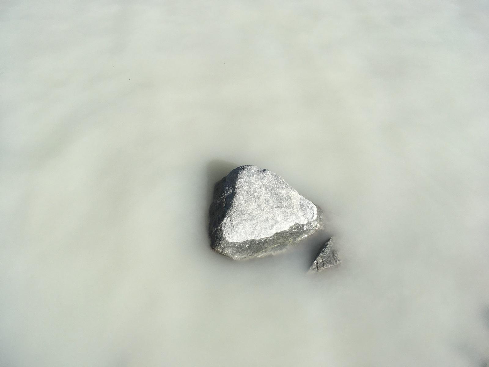 Eau laiteuse lacs d'Arsine