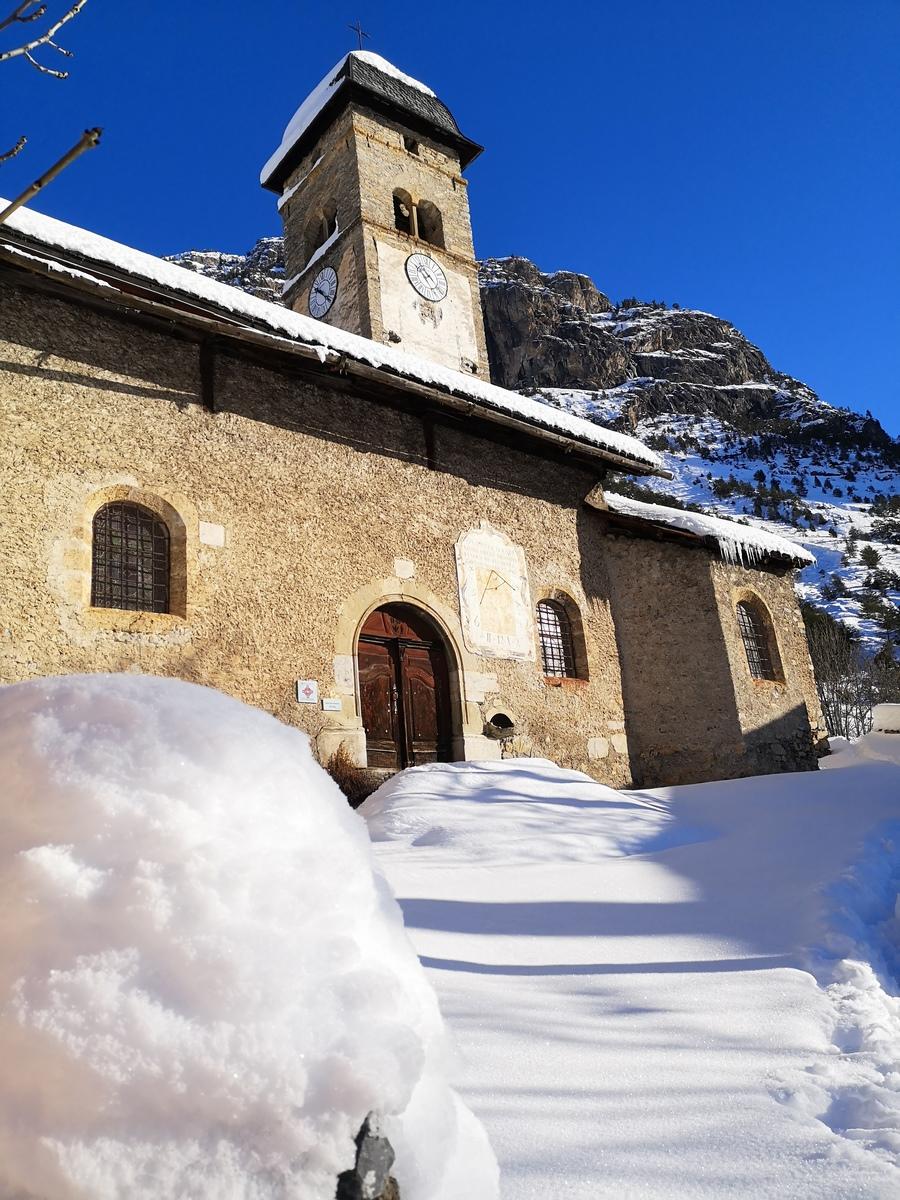 Eglise de Plampinet Clarée