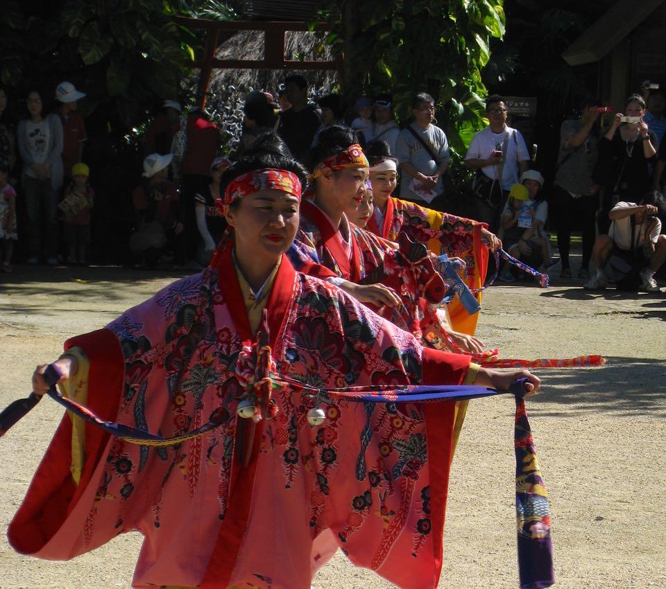 Ryukyu mura traditional dance
