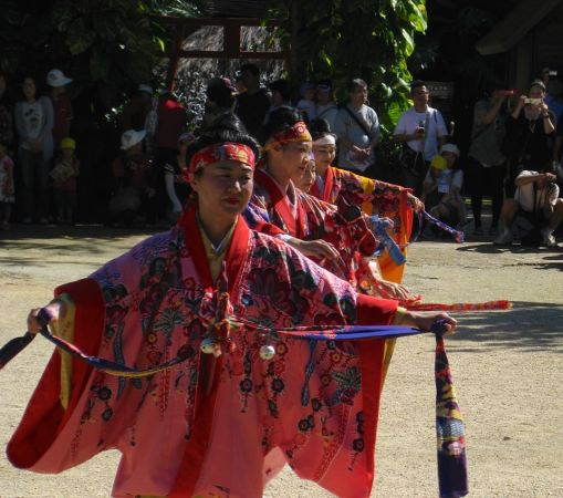 Ryukyu mura traditional dance