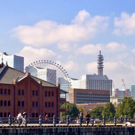 Yokohama Landmark Tower and Red Brick Warehouses