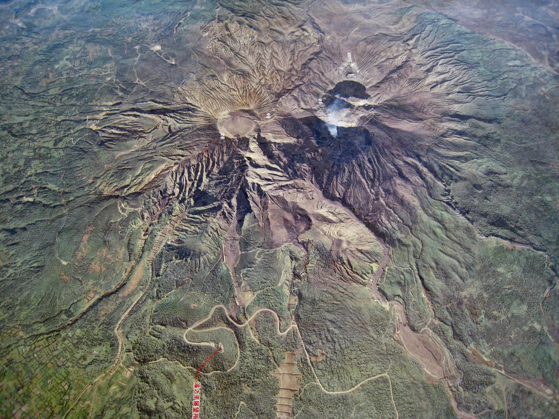 Sakurajima 3d-model