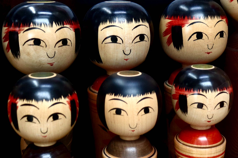 Ginzan Onsen - Kokeshi dolls