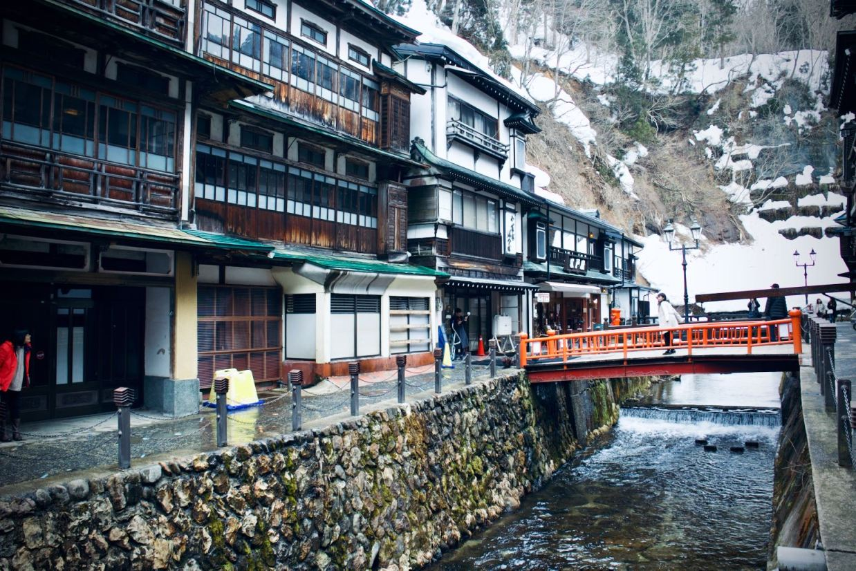 Ginzan Onsen - Silver mountain at the end of the town
