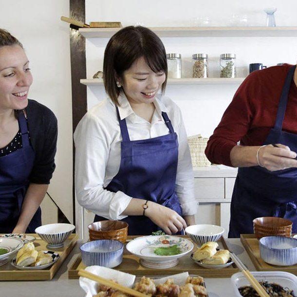 Cuisine conviviale à Kyoto avec Ai