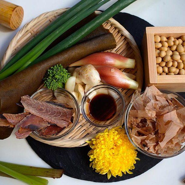 Ingrédients pour cuisine japonaise