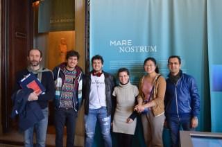 Leonardo, Silver, Matheus, Claudia, Mao et Giancarlo - Sortie des Océans et des Hommes IDL 2015