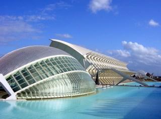city of arts and sciences Santiago Calatrava- arcspace.com
