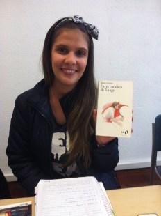Priscila a été attirée par la couverture de ce livre de Jean Giono.