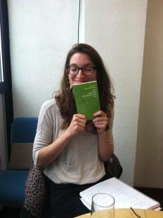 Un autre livre de Barbara Constantine a été présenté par Magdalena.