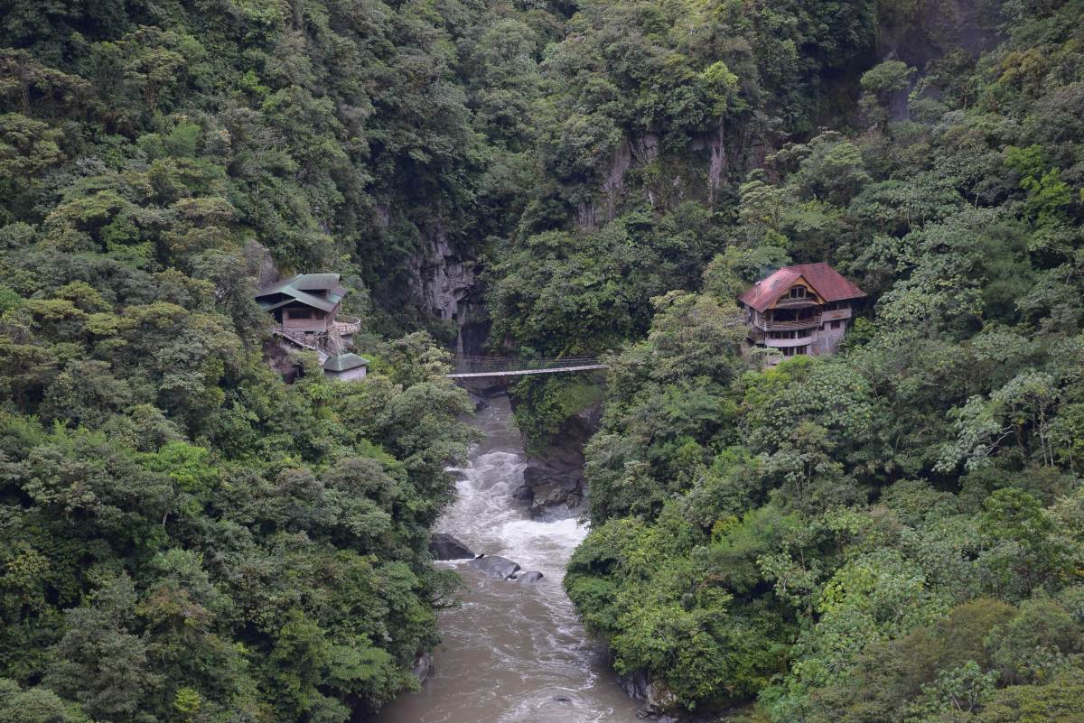 the road of waterfalls is a great thing to do in Banos ecuador