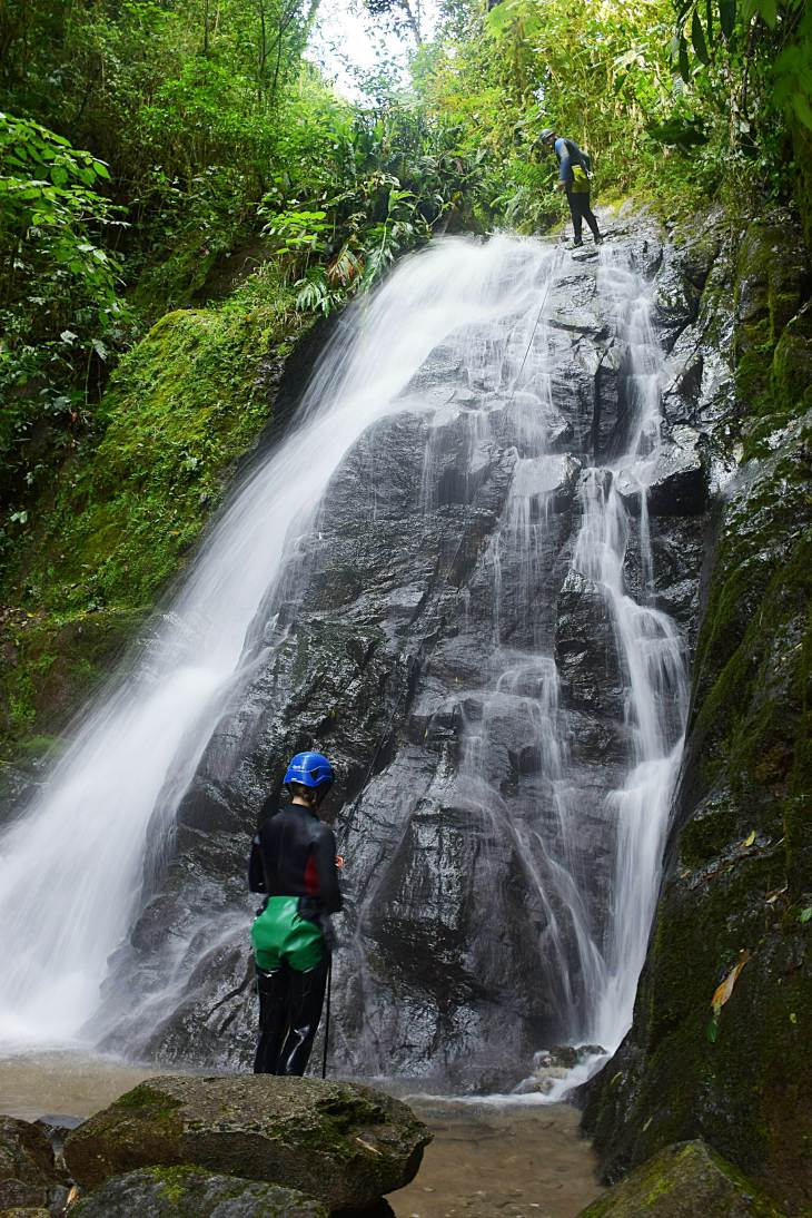 what to do in banos, go canyoning
