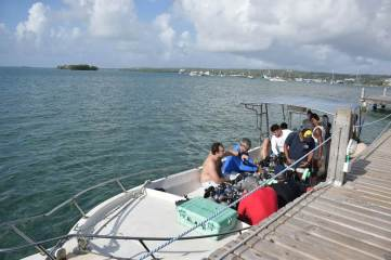 scuba diving on san andres island