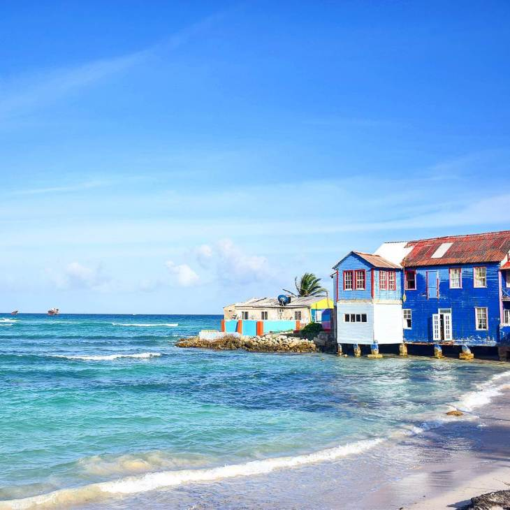 a view on the island of San Andres
