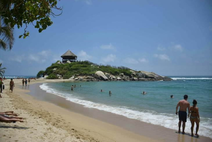 a complete explanation of how to get to Tayrona National Park