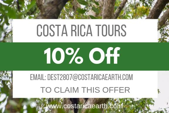 discount code for costa rice tours
