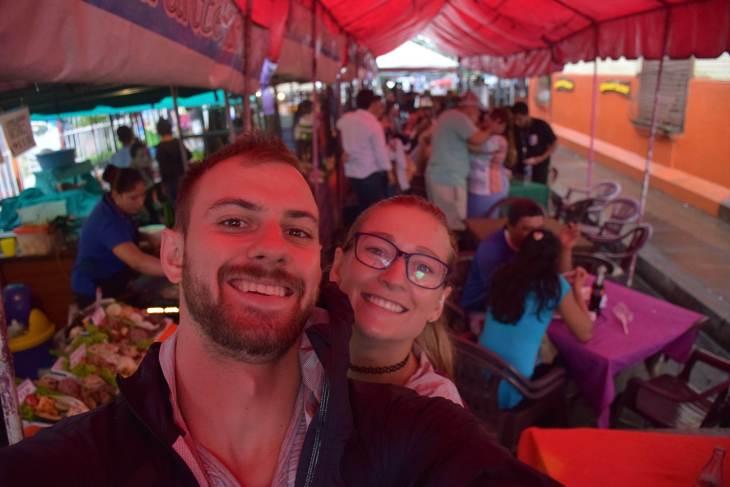 The ruta de las flores food markets!