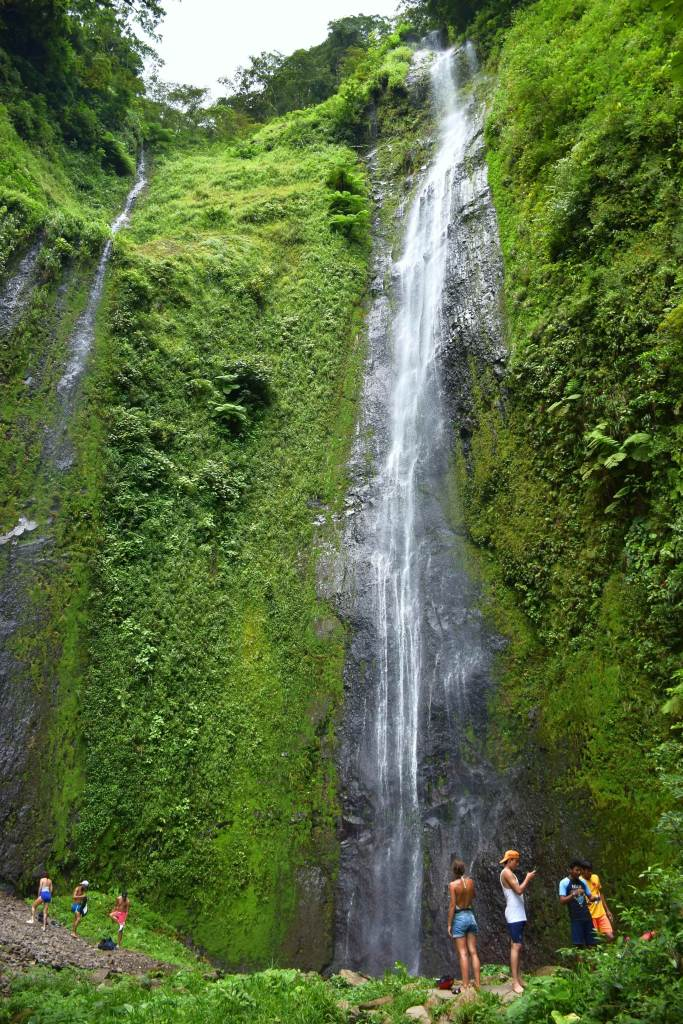 Salta San Ramon waterfall