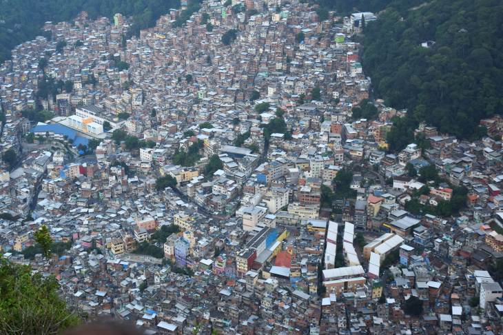 two brothers hike favela, the most dangerous hike in South America