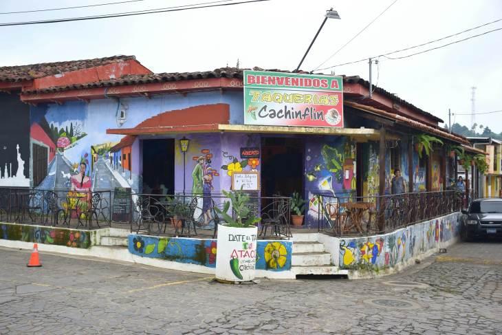 The towns on the ruta de las flores