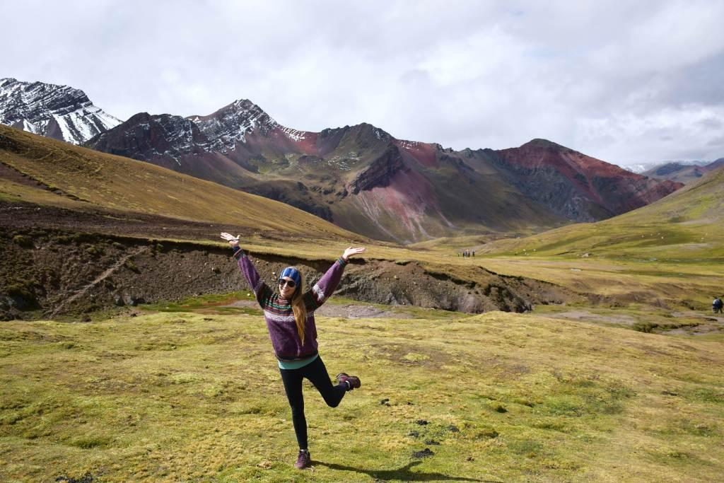 rainbow mountain outside of cusco