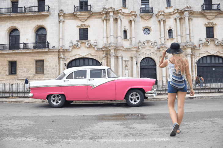 A typical street photo in Old Havana