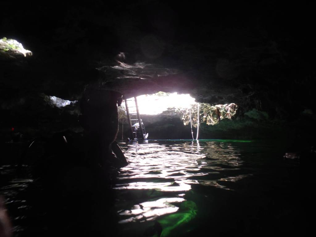 there are cenotes to explore while in Tulum on a budget