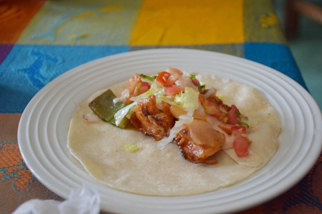 Seafood Tacos on the Puerto Vallarta food tour