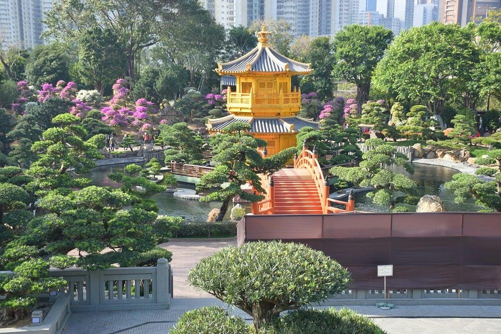 the beautiful nan lian garden