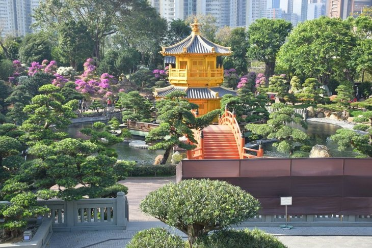 the beautiful nan lian garden