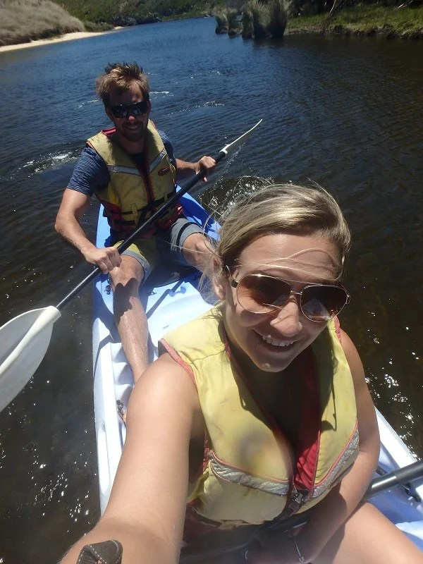 kayaking is one of the great things to do in Margaret River