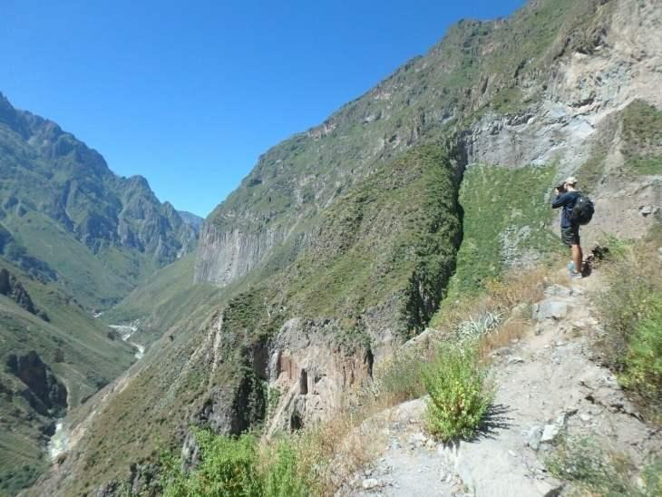 the colca canyon hike