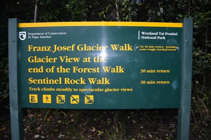 Franz josef glacier valley walk free